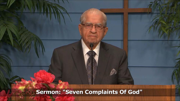 Seven Complaints Of God