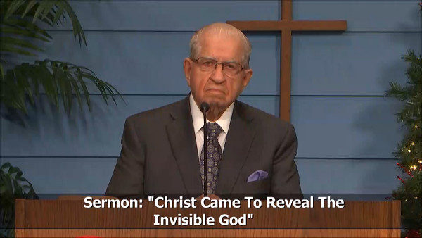 Christ Came to Reveal the Invisible God