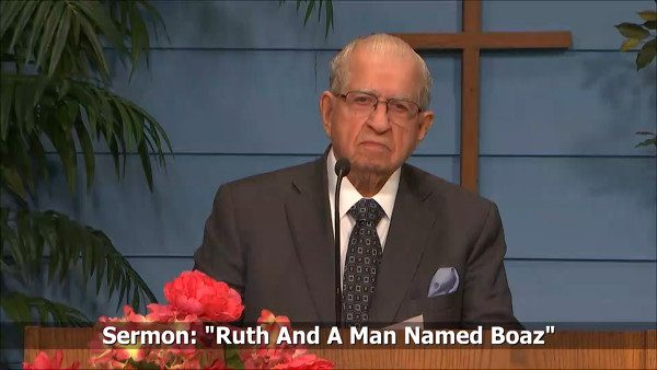Ruth and a man named Boaz