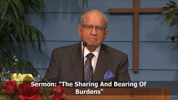 The Sharing and Bearing of Burdens