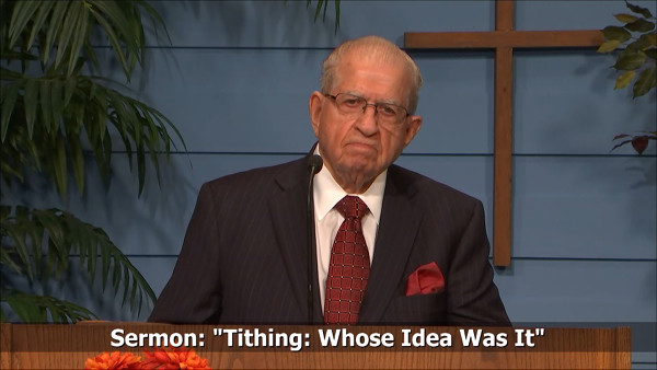 Tithing Whose Idea Was It