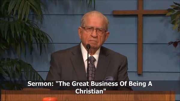 The Great Business Of Being A Christian