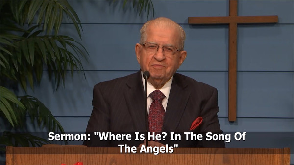 Where Is He In The Song Of The Angels