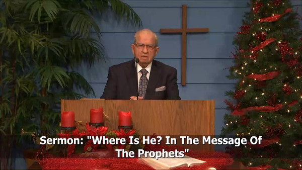 Where Is He In The Message Of The Prophets
