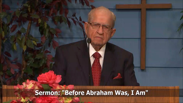 Before Abraham Was I Am