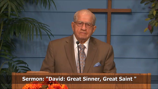 David Great Sinner Great Saint